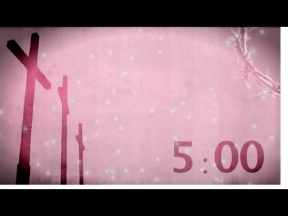 PINK CROSS COUNTDOWN
