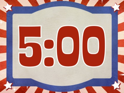 PATRIOTIC COUNTDOWN 5MIN