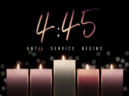 ADVENT CANDLELIGHT COUNTDOWN