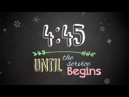 CHRISTMAS CHALK COUNTDOWN
