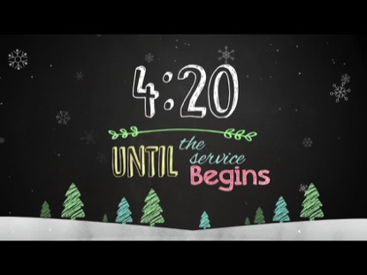 CHRISTMAS CHALK KIDS COUNTDOWN
