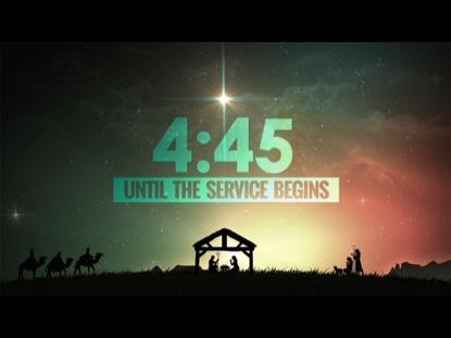 CHRISTMAS NATIVITY COUNTDOWN