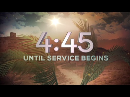 PALM SUNDAY COUNTDOWN
