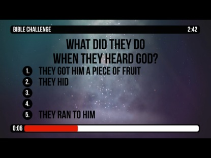 BIBLE CHALLENGE COUNTDOWN 3 - THE FALL