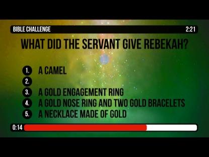 BIBLE CHALLENGE COUNTDOWN 7 - ISAAC
