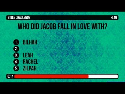 BIBLE CHALLENGE COUNTDOWN 9 - JACOB AND LABAN