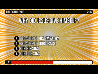 GALATIANS 1 EVERY MINUTE COUNTDOWNS