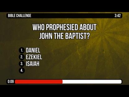 JOHN THE BAPTIST AND JESUS' BAPTISM - MATTHEW 3