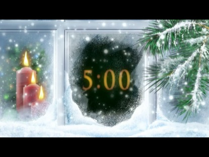 CHRISTMAS WINDOW COUNTDOWN