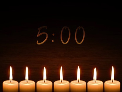 COME EMMANUEL CANDLELIGHT COUNTDOWN