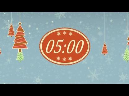 FALLING CHRISTMAS COUNTDOWN