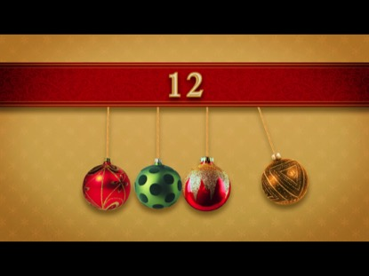 NEWTONS CRADLE CHRISTMAS COUNTDOWN 1