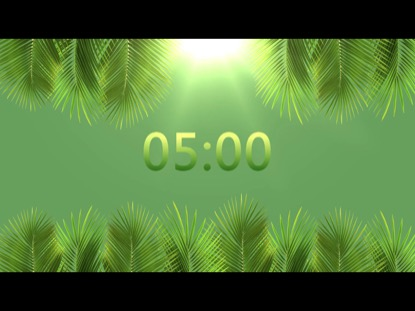 PALM SUNDAY BRIGHT COUNTDOWN