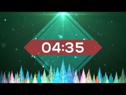 COLORFUL CHRISTMAS TREES COUNTDOWN