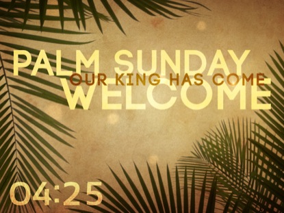 PALM SUNDAY GRUNGE COUNTDOWN