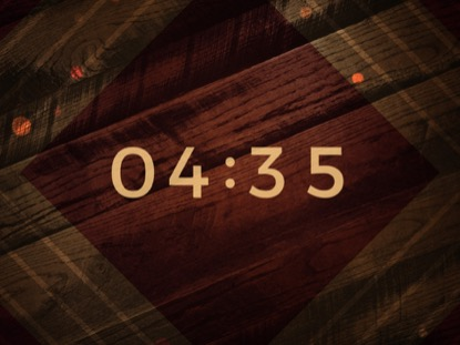 RUSTIC WOOD COUNTDOWN