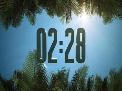 SKY VIEW PALM SUNDAY COUNTDOWN