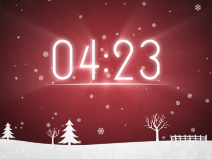 WINTER SNOW COUNTDOWN