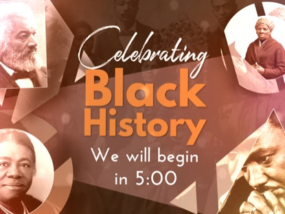 BLACK HISTORY MONTH COUNTDOWN