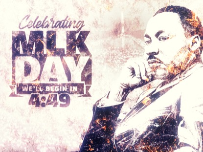 CELEBRATING MARTIN LUTHER KING DAY COUNTDOWN