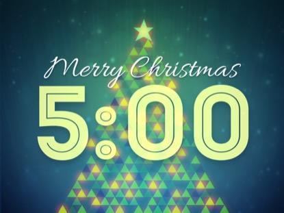 CHRISTMAS LIGHTS COUNTDOWN