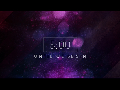 Empowering Scriptures Countdown | Playback Media