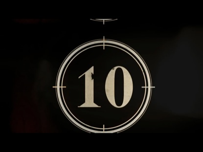FILM COUNTDOWN CLOCK 10 SECONDS