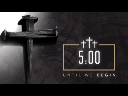 FOR OUR SINS COUNTDOWN