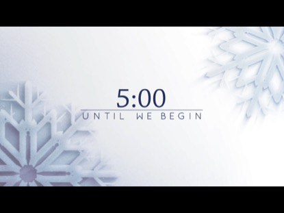 FROSTED SNOWFLAKE COUNTDOWN