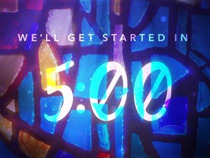 Glass Mosaic Countdown | Playback Media | Preaching Today Media