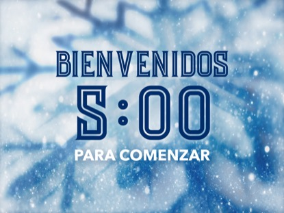 ICY CHRISTMAS COUNTDOWN SPANISH