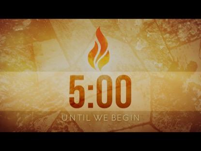PENTECOST FIRE COUNTDOWN
