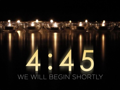 REFLECTIVE CANDLES COUNTDOWN