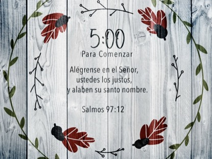 THANKSGIVING ART SCRIPTURE COUNTDOWN SPANISH