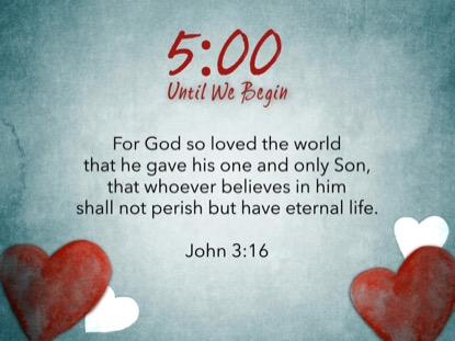 VALENTINES HEARTS SCRIPTURE COUNTDOWN