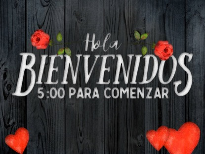 WOODEN VALENTINE COUNTDOWN - SPANISH