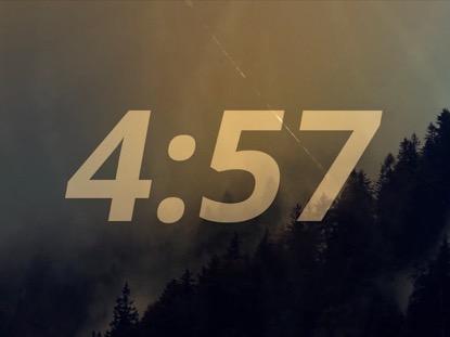 MOUNTAIN COUNTDOWN