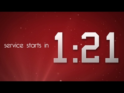 RED WELCOME COUNTDOWN