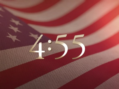 BEAUTIFUL 3D AMERICAN FLAG COUNTDOWN