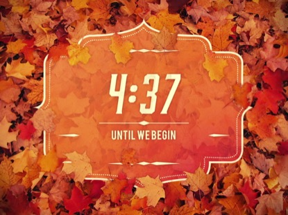 AUTUMN FOLIAGE COUNTDOWN