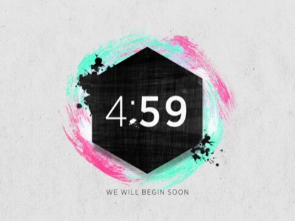 COLORFUL PAINT COUNTDOWN