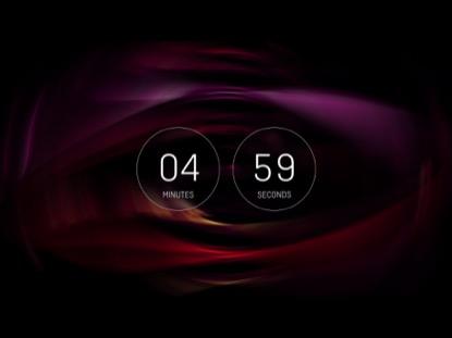 BLURRED VISION COUNTDOWN