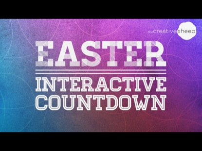 EASTER INTERACTIVE COUNTDOWN 1