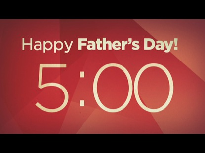 WHAT FATHERHOOD MEANS: COUNTDOWN