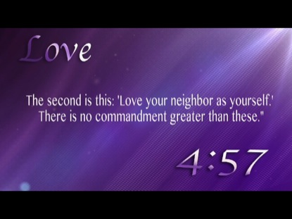 SCRIPTURES OF LOVE COUNTDOWN