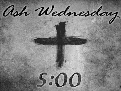 ASH WEDNESDAY COUNTDOWN 1