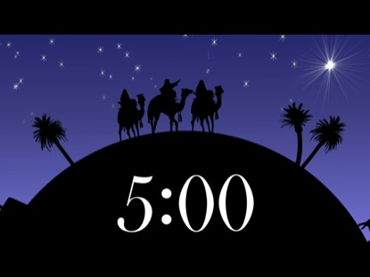 CHRISTMAS NATIVITY COUNTDOWN