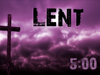 Lent countdown vertical hold media worshiphouse media - Wallpaper for lent season ...