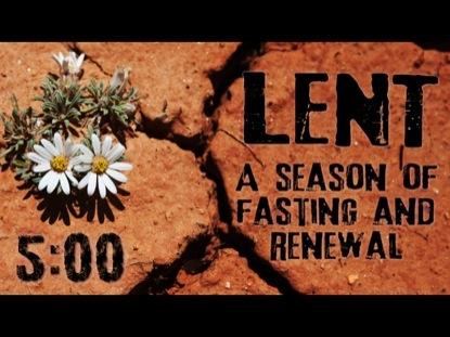 LENT DESERT COUNTDOWN