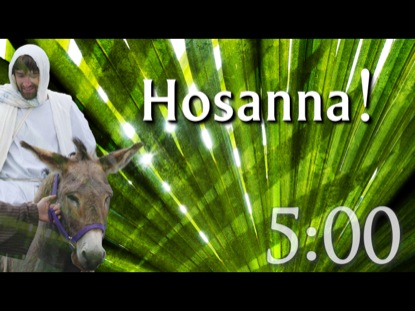 PALM SUNDAY COUNTDOWN 1
